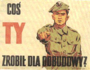 Pologne Qu'avez vous fait pour la reconstruction