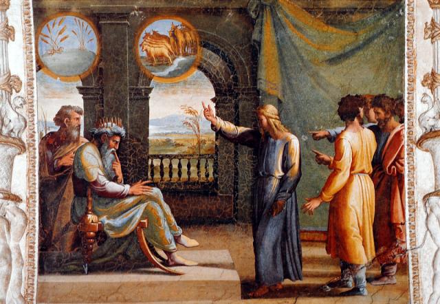Rapahel Loggia du Vatican Les Songes de Pharaon 1514- 1519