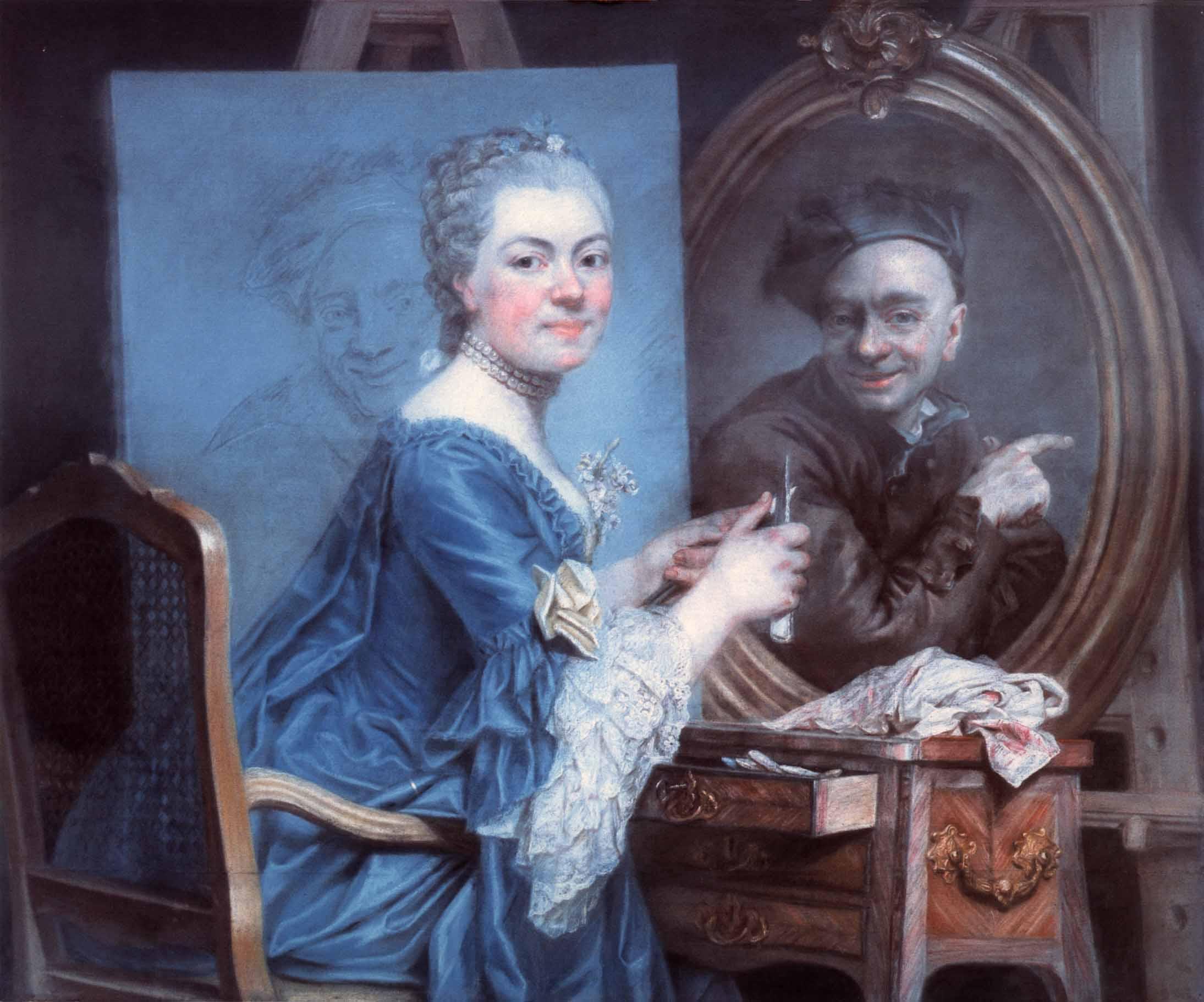 Roslin__Marie-Suzanne_-_Selfportrait_-_c._1775 coll privee
