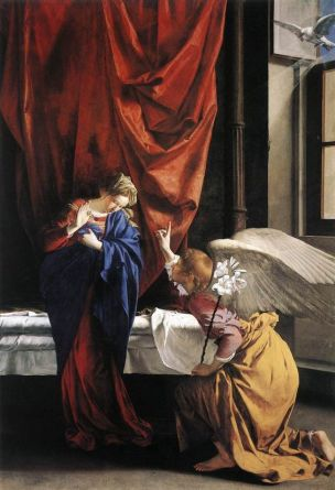 The Annunciation, c.1623 Orazio Gentileschi Galleria Sabauda, Turin