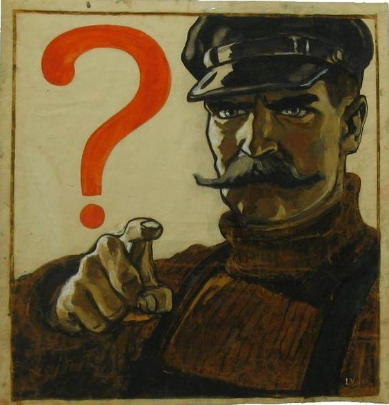 URSS 1945 Viktor Ivanov, A sketch for a poster, 1945