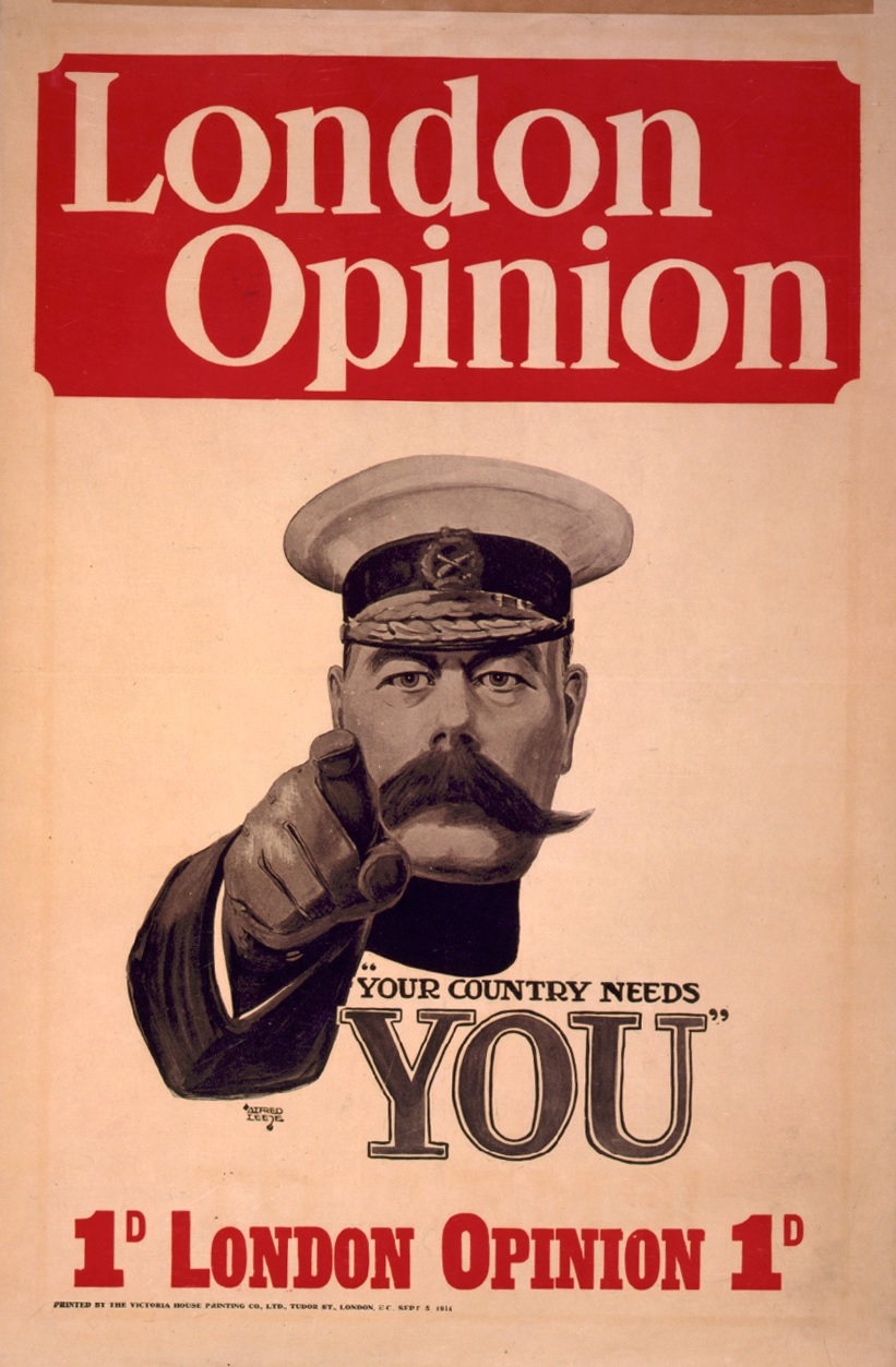 WW1 GB 1914 Kitchener 1