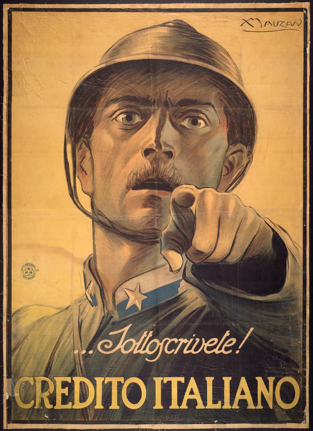 WW1 Italie 1917 Achille-Mauzan