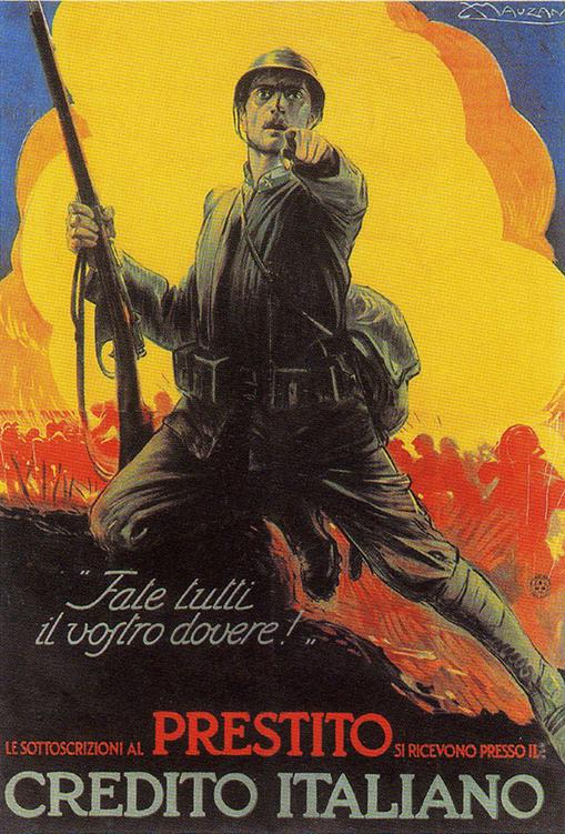 WW1 Italie, 1917 Fatte tutti il vostro do