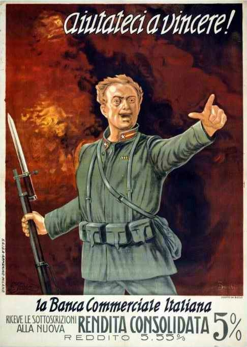WW1 Italie Milano S.A.I.G.A.-Armanino, vers 1915