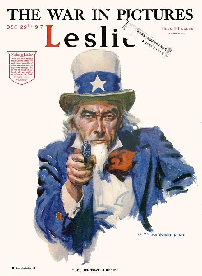 WW1 US 1917 Leslies Weekly1917-12-29