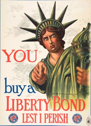 WW1 US 1917 Liberty-Bond-Charles Raymond Macauley