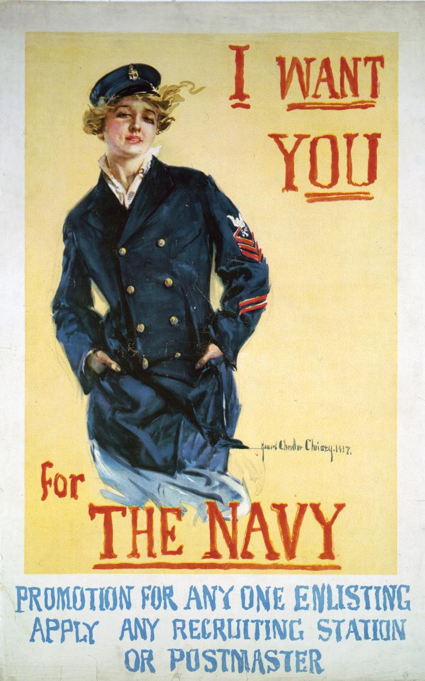 WW1 USA 1917 I want you Howard Chandler Christy