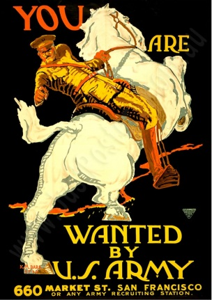 WW1 USA Wanted-by-the-US-Army