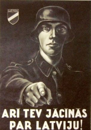WW2 Allemagne occupied Latvia And you have to fight for Latvia