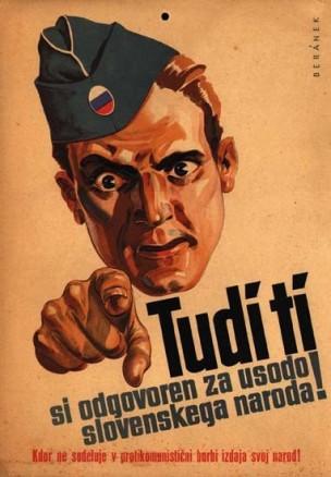 WW2 Slovenie 1944 dlako-z-jezika-slovencki-slovenceljni-slovenstvo