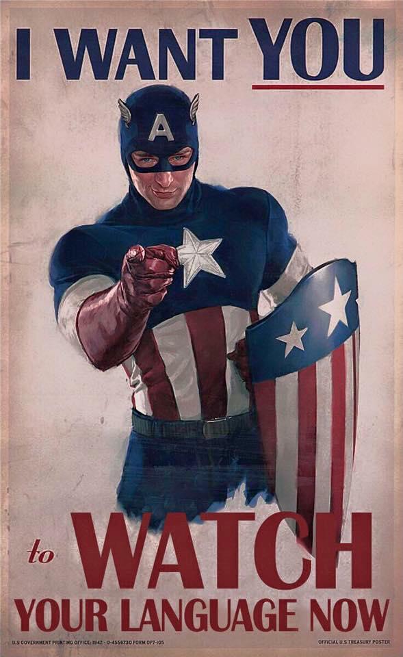 WW2 USA 1942 Captain America