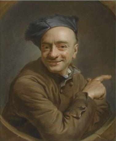 maurice-quentin-de-la-tour-autoportrait-a-l-index-ou-l-oeil-de-boeuf 1737 Louvre