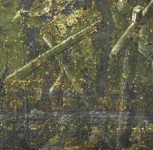 Albrecht Durer, Calvary 1505. Drawing,Florence, Galleria degli Uffizi dteail croix