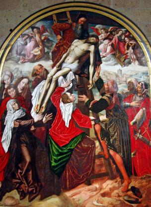 Ambrosius_Benson_Descendimiento_Catedral_de_Segovia 1532-36