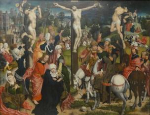 Baegert,Derick_—_Kreuzigung_Christi_vers 1498(Alte_Pinakothek)