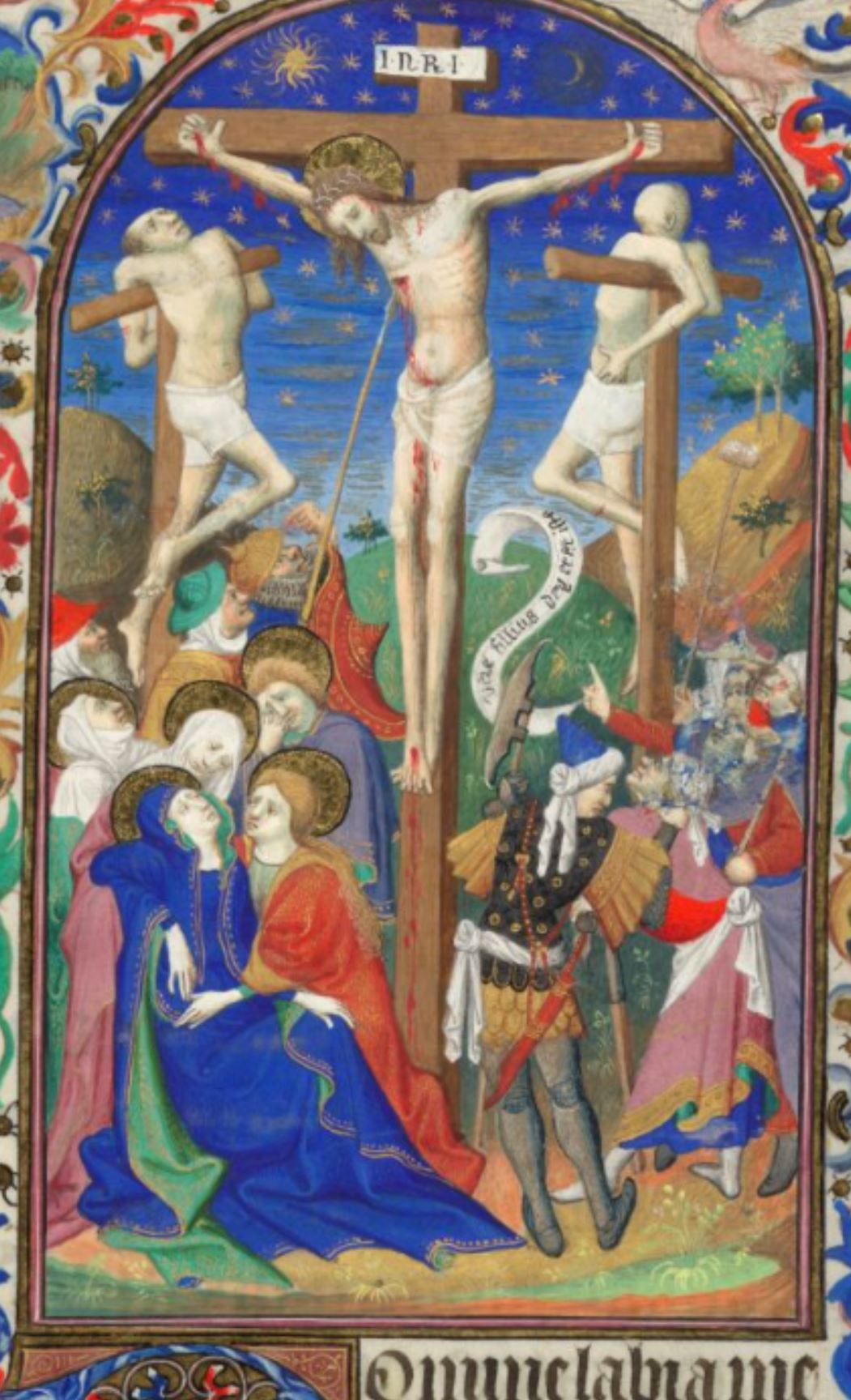 Bedford Hours 1410-30 Crucifixion_British_Library_Add_MS_18850_f144R centre