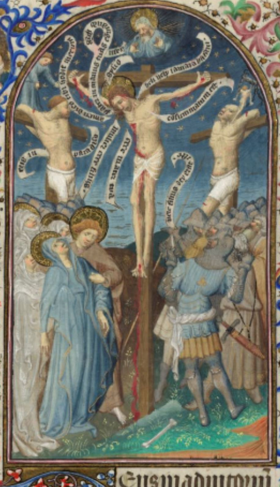 Bedford Hours 1410-30 Crucifixion_British_Library_Add_MS_18850_f240R centre