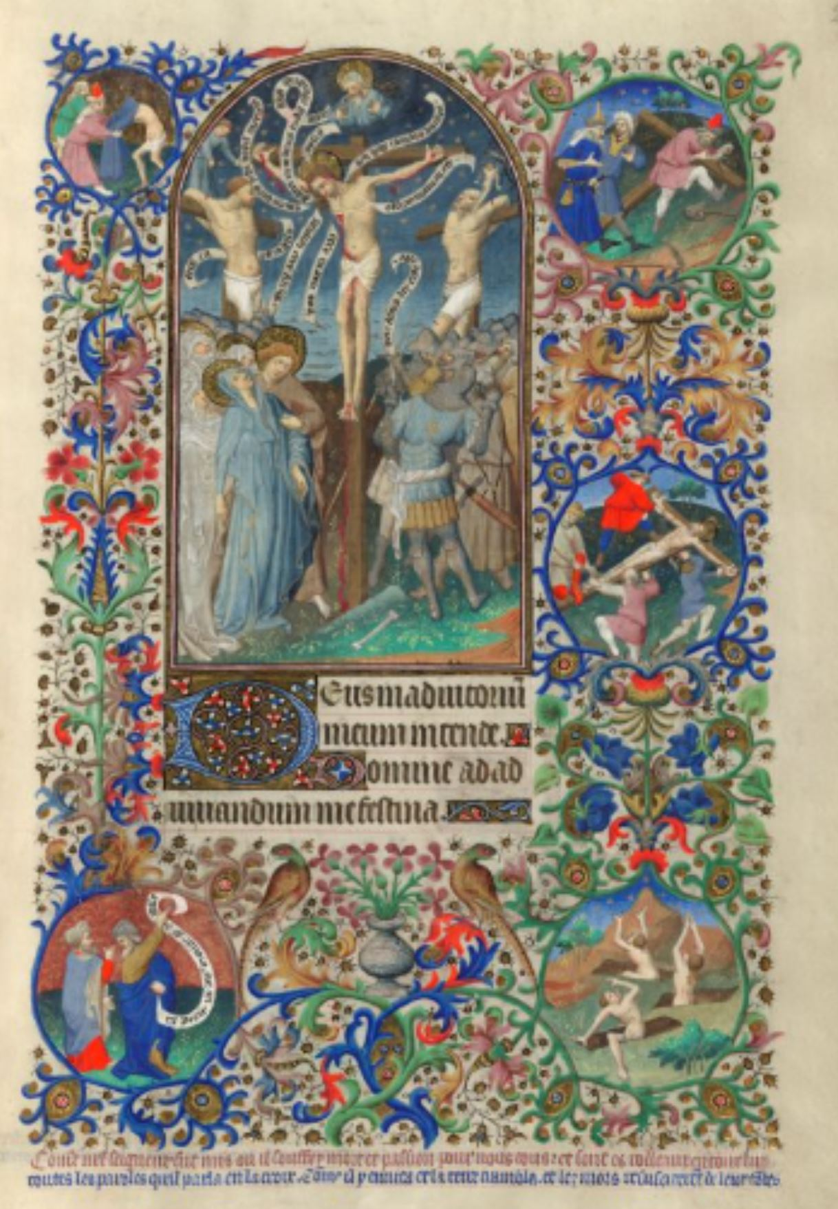 Bedford Hours 1410-30 Crucifixion_British_Library_Add_MS_18850_f240R