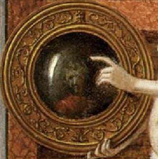 Bellini Allegoria della prudenza o della vanita – ca. 1490 Gallerie dell'Accademia, Venezia detail visage