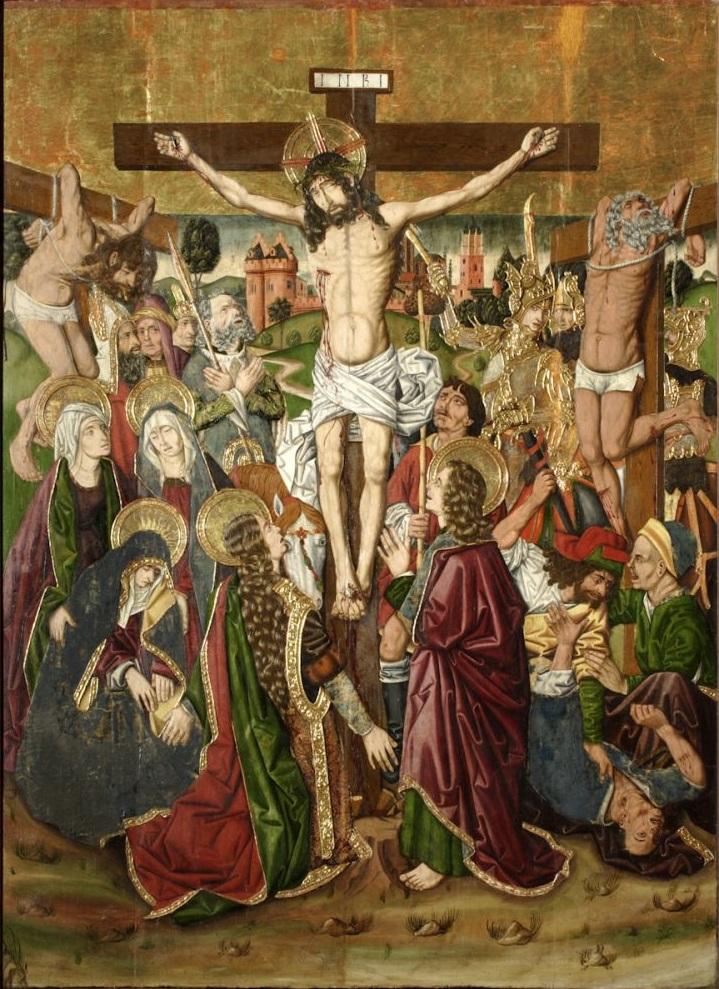 Calvario,_del_taller_de_Miguel_Ximenez_1483 -1487(Museo_de_Zaragoza)