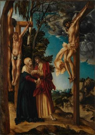 Cranach 1503 Schleissheimer Kreuzigung Alte Pinakothek Munich