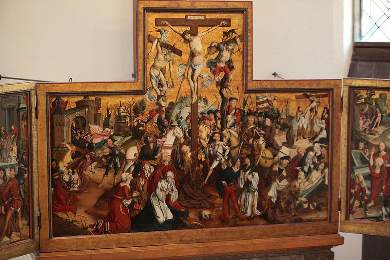 Crucifixion Evangelische Kirche Schermbeck 1506 ecole de Derick Baegert