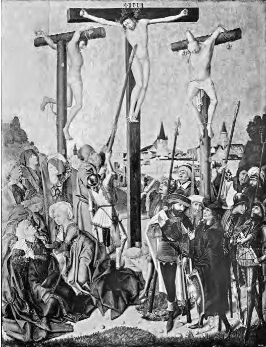 Crucifixion Maitre de 1477 Wallraf Richardz Museum, Cologne