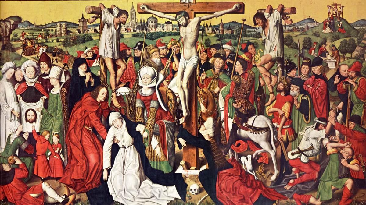 Derick_Baegert_- Crucifixion vers 1475_AltarPropsteikirche Dortmund