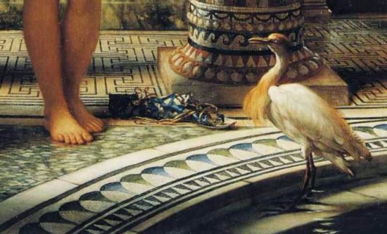 Edward_John_Poynter_-_Diadumene oiseau