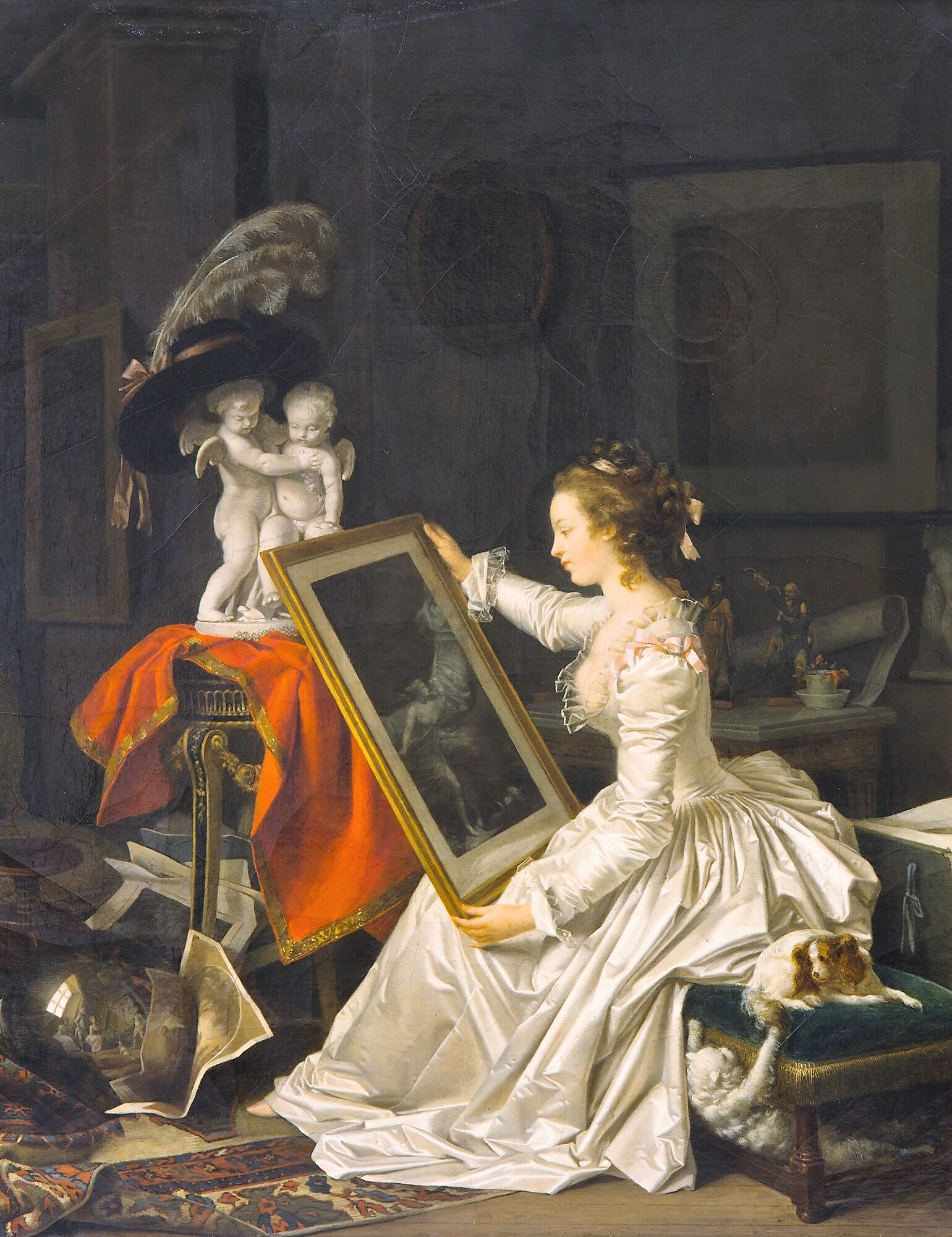 Eleve interessante 1786 ca Marguerite Gerard Fragonard Louvre