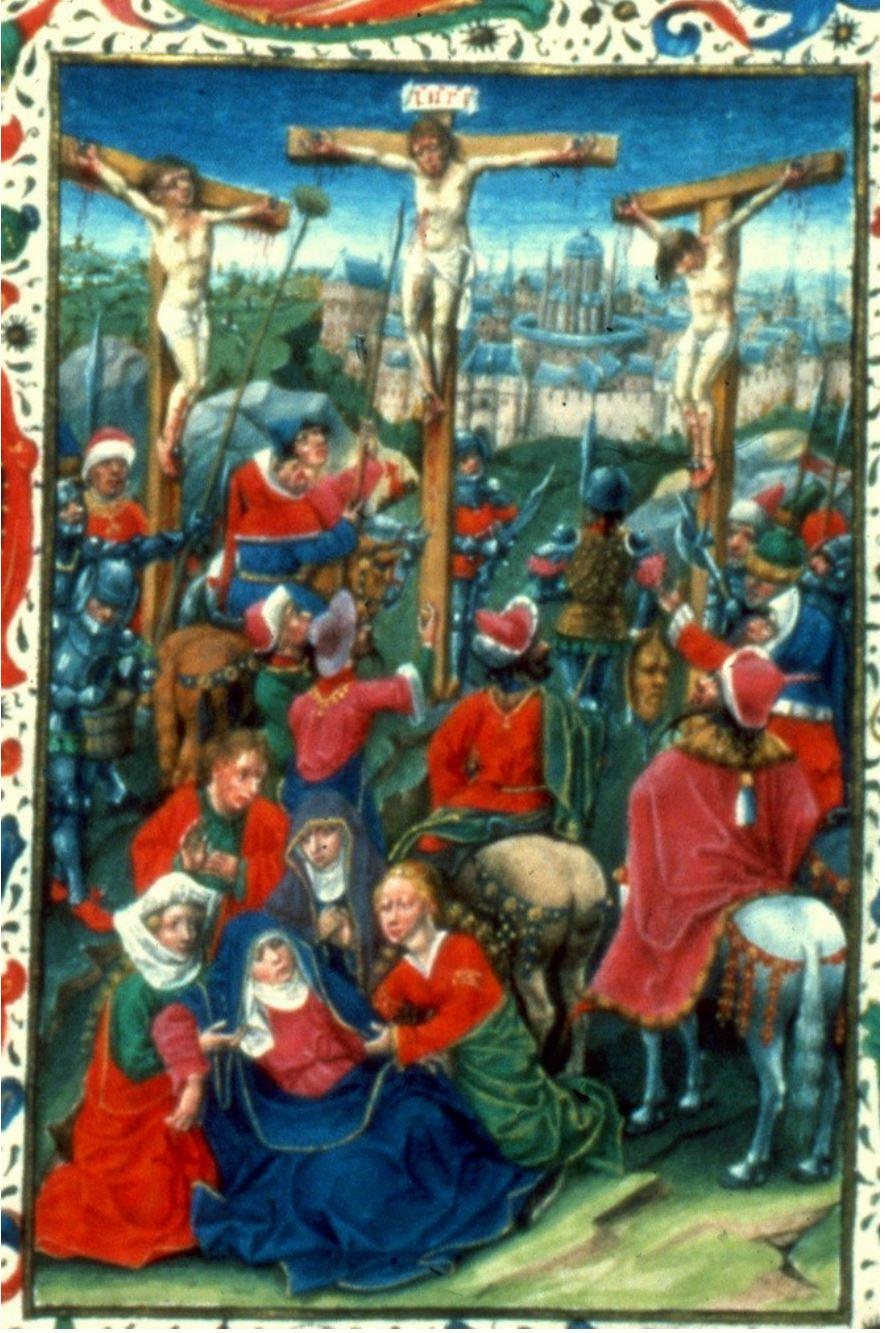 Evert van Soudenbalch, Hours of Jan van Amerongen (Utrecht), vers 1460, Brussels, KBR, II 7619 fol 55v