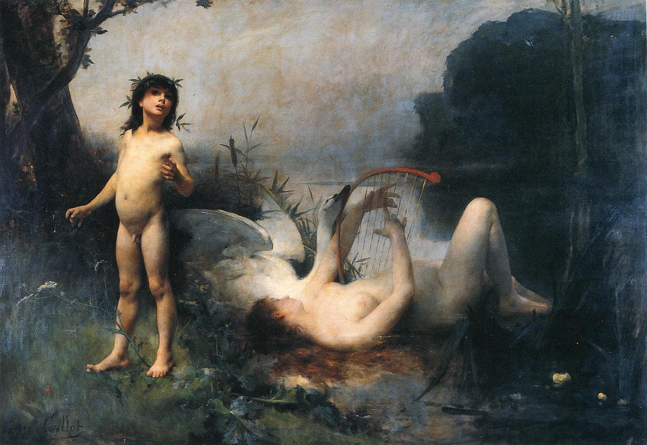 Georges Callot, L enfance d'Orphee