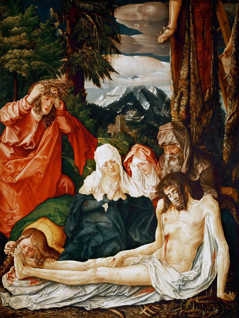 Hans Baldung Grien Deploration 1513 Landesmuseum innsbruck