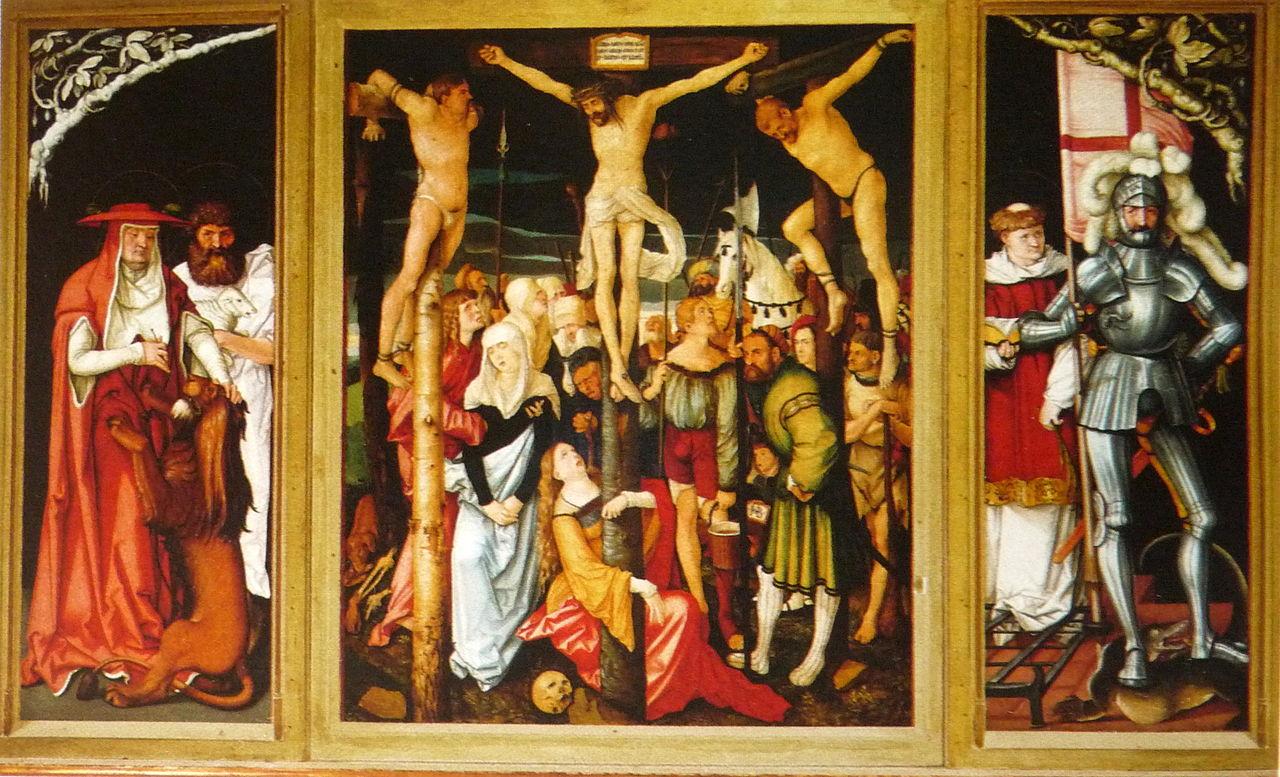 Hans Baldung Grien Hochaltar Freiburg minster 1516
