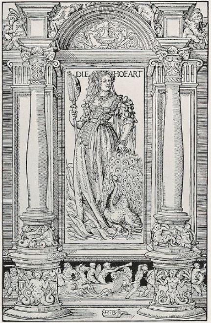 Hans Burgkmair Allegorie de la Vanite