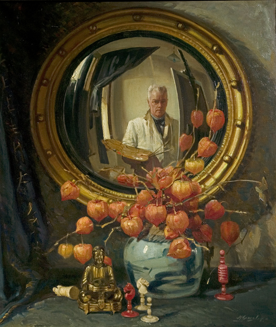 "Harold Gresley ""The Convex Mirror"", 1945 Derby museum"