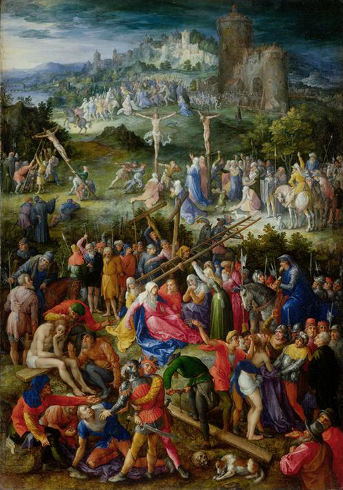 Jan Brueghel l'ancien 1604 Calvary_Offices Florence
