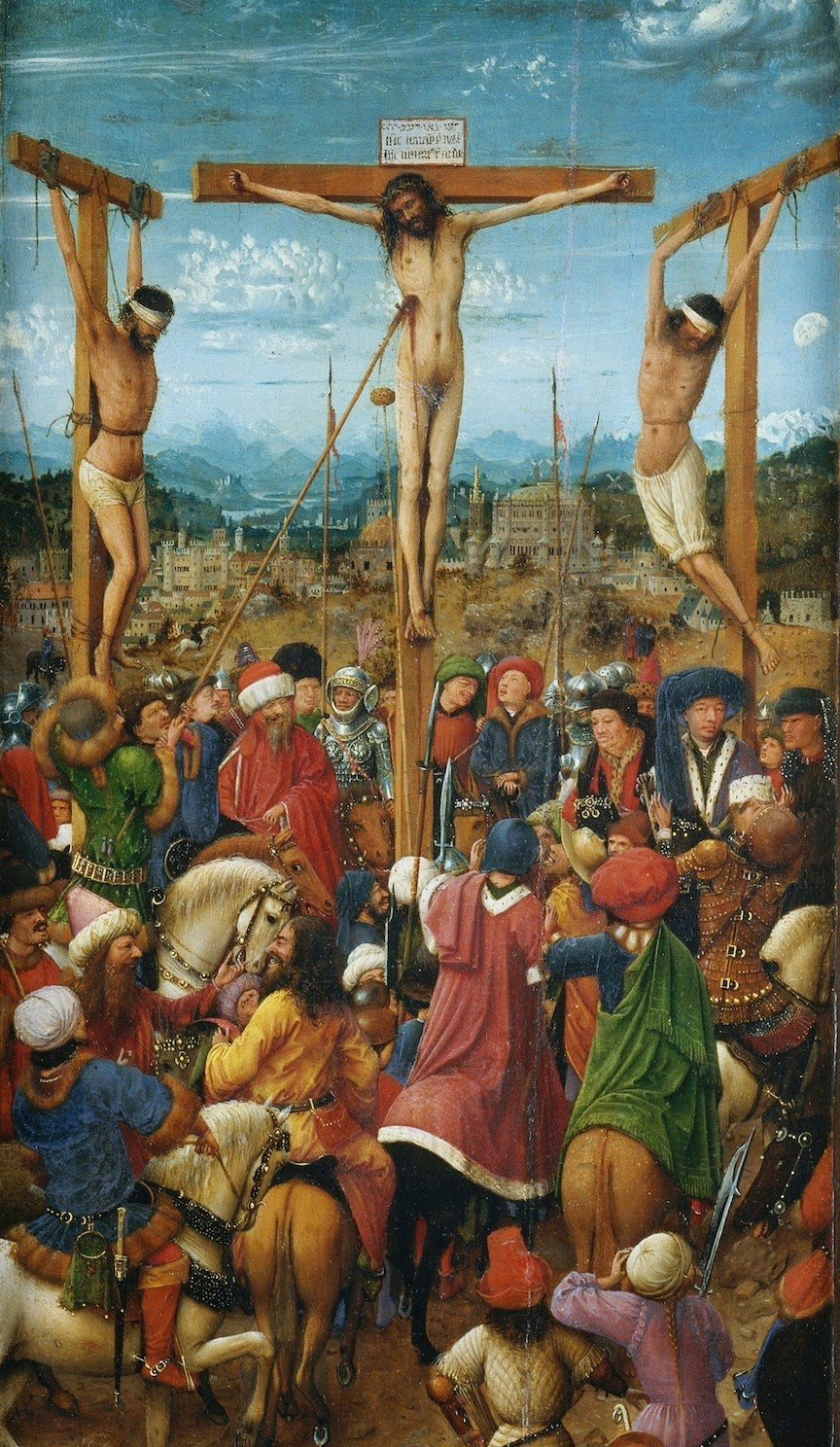 Jan van Eyck The Crucifixion; The Last Judgment, ca. 1430 The Metropolitan Museum, NY