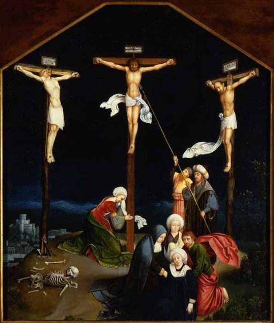 Joachim Patinir Crucifixion, 1500 Portland Museum