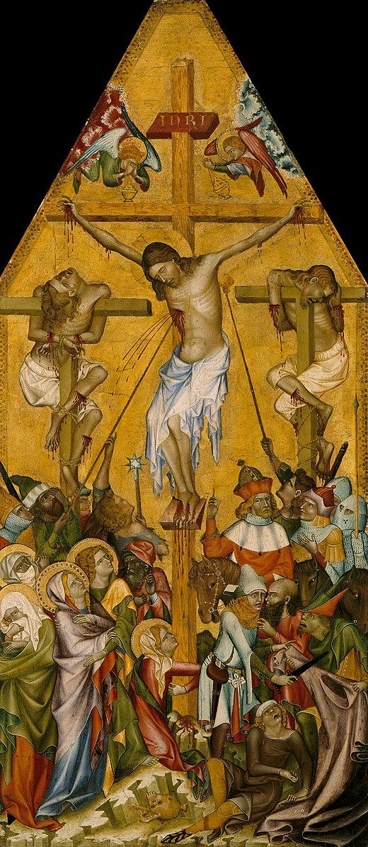 Kaufmann_Crucifixion-_GemaldeGalerie Berlin 1340