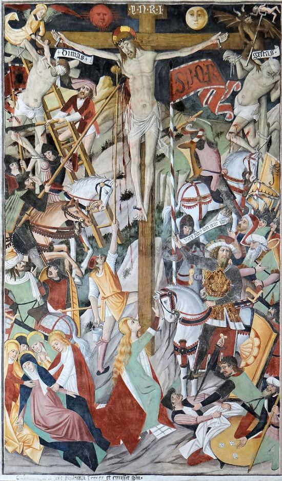 La_Brigue_-_Chapelle_Notre-Dame-des-Fontaines_-_Nef_-_Fresques_de_la_Passion_du_Christ_Giovanni Canavesio-vers 1480