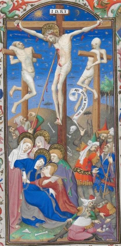 Livre d'heures 1422-1425 Vienne ONB Cod 1855 fol 282 centre