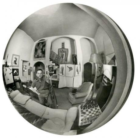 Man Ray Autoportrait, Vine Street, Vers 1948 a