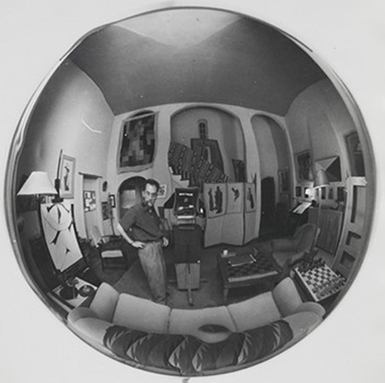 Man Ray Autoportrait, Vine Street, Vers 1948 b