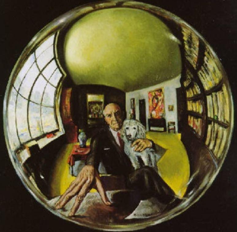 Roberto Montenegro 1961autoportrait
