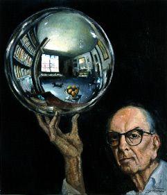 Roberto Montenegro 1965 Self Portrait in Studio