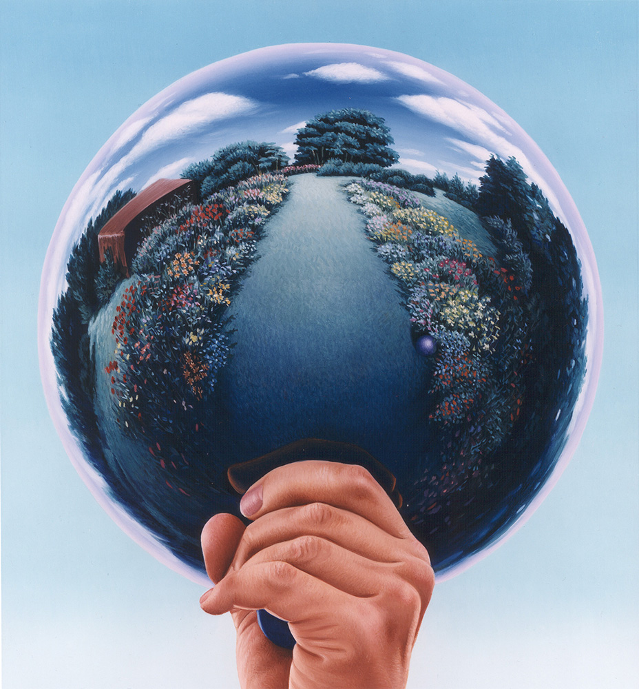 Robin Freedenfeld Gardener's Globe