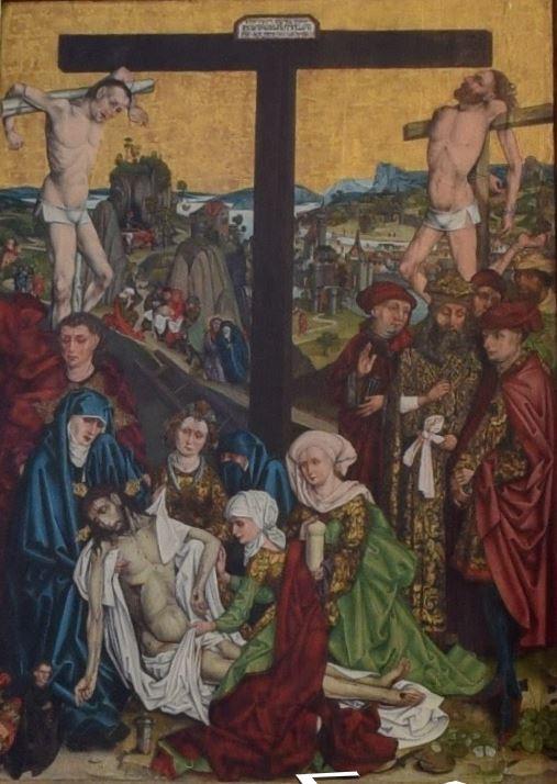 Wolgemut, Michael Die Kreuzabnahme 1490, St Lorenzkirche, Nuremberg