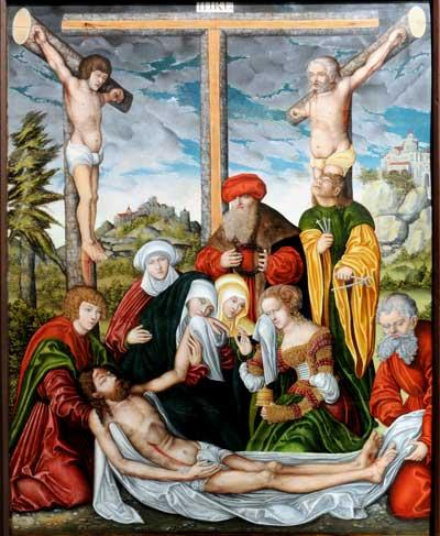 atelier de Lucas Cranach (1536) berlin-marienkirche
